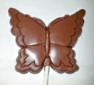 Nut-free chocolate Butterfly pop