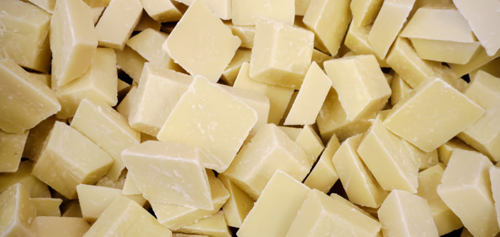 chunks of white chocolate